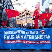 """Broschüre """"Bundeswehr und NATO raus aus Afghanistan"""