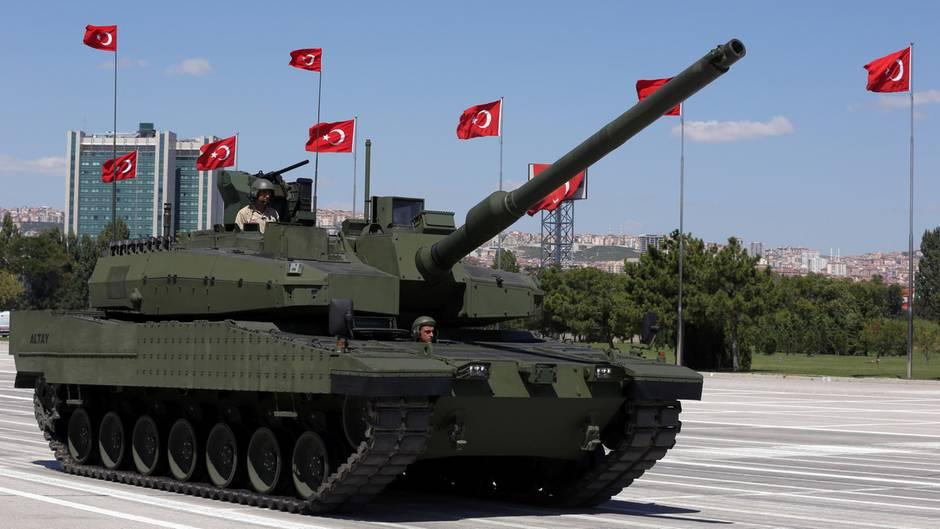 Türkischer Kampfpanzer Altay: Rheinmetall will beim Bau dabei sein