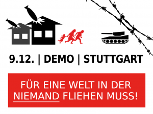 Demonstration am 9.12.