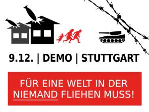 Demonstration am 9.12.