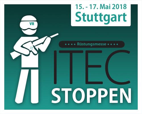 ITEC Militärmesse stoppen!