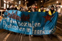 Solidarität mit den Gelbwesten in Frankreich!