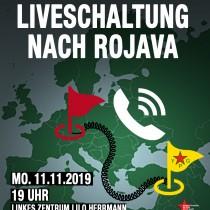 Flyer Liveschaltung Rojava Stuttgart WEB
