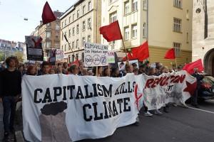 klimademo Stuttgart 2019 antikapitalistischer Block